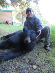 Timber Point Camp Hunting Black Bear Spring and Fall Northwest ontario canada guided baited stands big bear