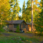 Deer Haven cabin at Timber Point Camp in Ontario Canada