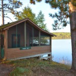 Timber Wolf cabin at Timber Point Camp in Ontario Canada