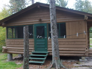 Beaver Hut Cabin at Timber Point Camp in Ontario Canada